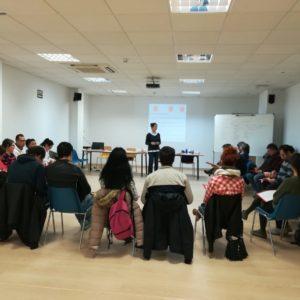 Información y derivación de voluntariado para la inclusión social