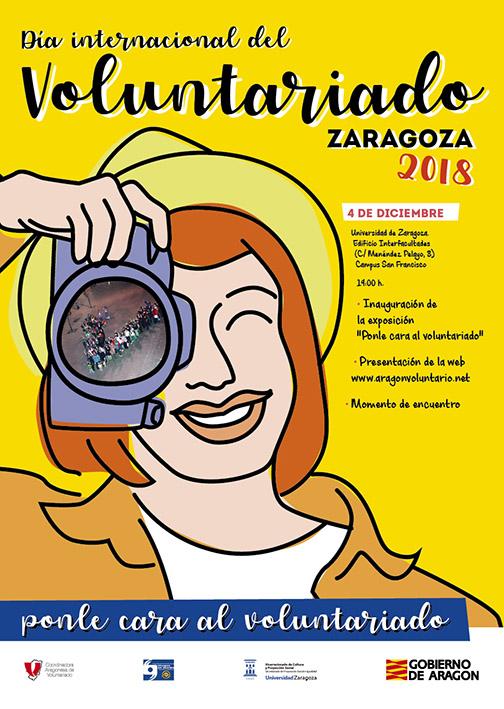 """""""Ponle cara al voluntariado"""", una exposición para conmemorar el Día Internacional del Voluntariado"""