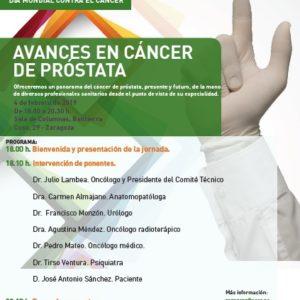 aecc organiza una Jornada sobre el cáncer de próstata