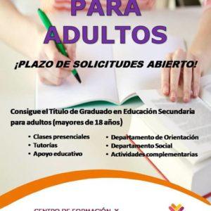 Inscríbete en los cursos de Secundaria para adultos de Fundación Dolores Sopeña