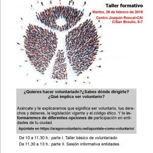 Nueva reunión informativa para personas interesadas en hacer voluntariado