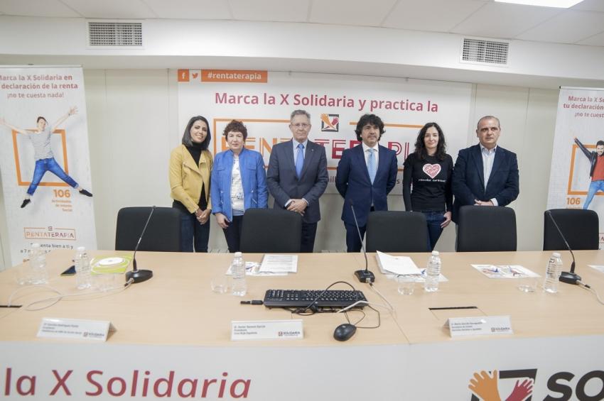 """Se presenta en Madrid una nueva campaña de la """"X Solidaria"""""""