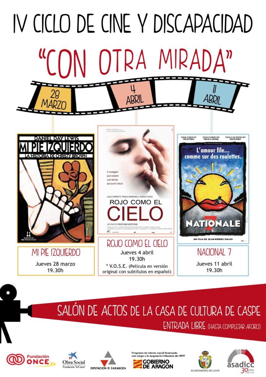 """Continúa el ciclo de cine """"Con otra mirada"""" de Asadicc"""