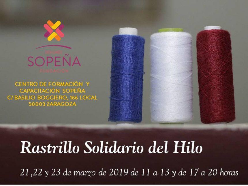 La Fundación Dolores Sopeña celebra su Rastrillo del Hilo