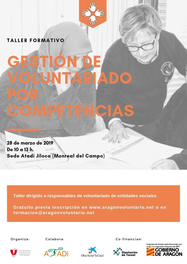"""Taller """"Gestión del voluntariado por competencias"""" en Monreal del Campo"""