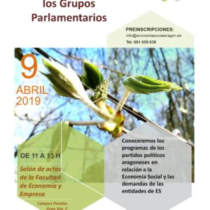 Encuentros de la Economía Social y Grupos parlamentarios