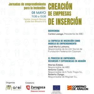 """Arei organiza la jornada """"Emprendimiento para la inclusión: creación de empresas de inserción"""""""