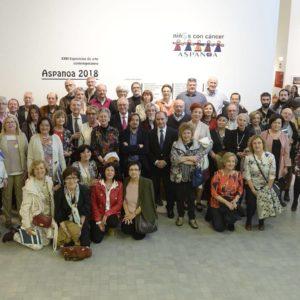 La Exposición de Aspanoa reúne a casi 100 artistas contra el cáncer infantil