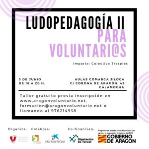 Segundo taller de Ludopedagogía en Calamocha