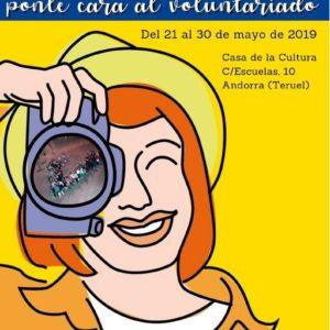 """La exposición """"Ponle cara al voluntariado"""" llega a Andorra (Teruel)"""
