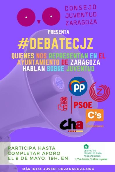 El CJZ organiza un debate para conocer las propuestas políticas en materia de juventud
