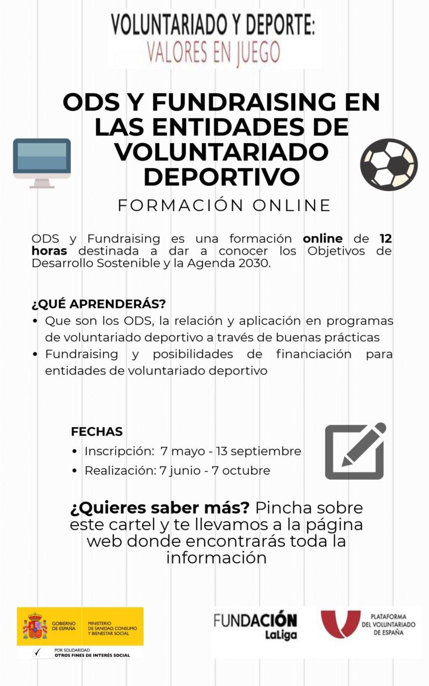 La PVE organiza un taller online de voluntariado deportivo