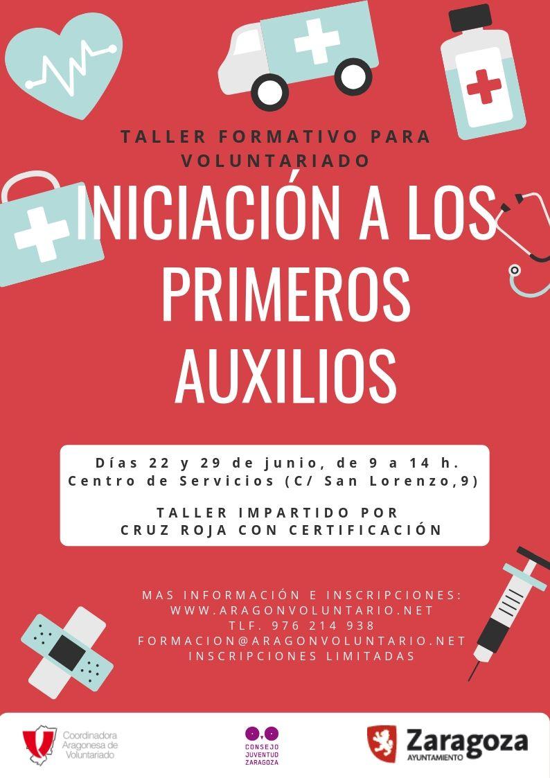 """Arrancamos la Oferta Formativa 2019 con el taller """"Iniciación a los primeros auxilios para voluntari@s"""""""