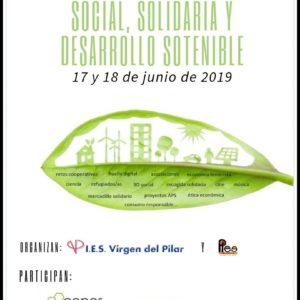 La Coordinadora Aragonesa de Voluntariado participa en las Jornadas EcoSocial del IES Virgen del Pilar