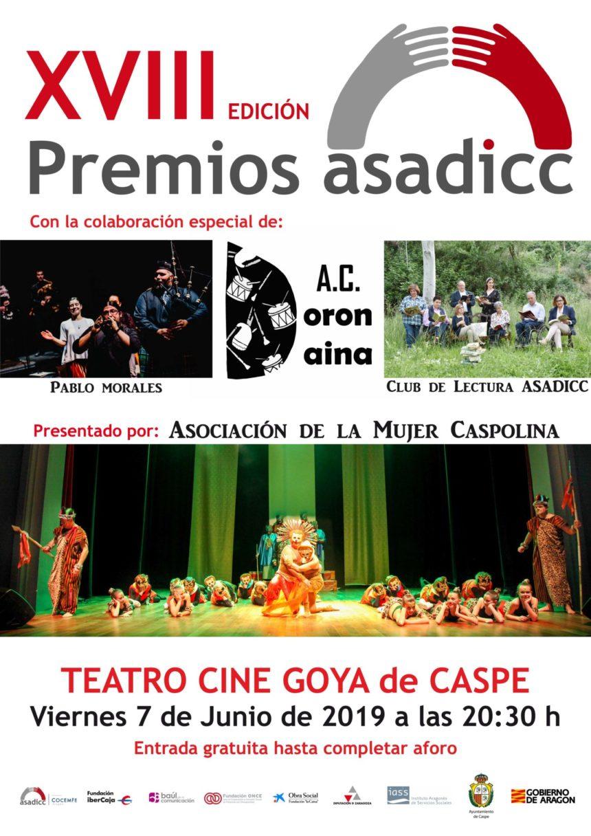 Asadicc celebra su Gala de Premios y aún puedes asistir