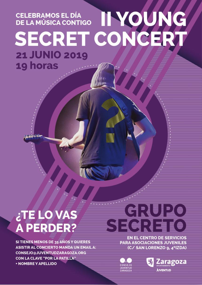 El CJZ organiza el II Young Secret Concert para celebrar el Día de la Música