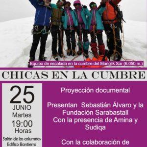 """Asapme nos invita a la proyección del documental """"Chicas en la cumbre"""""""