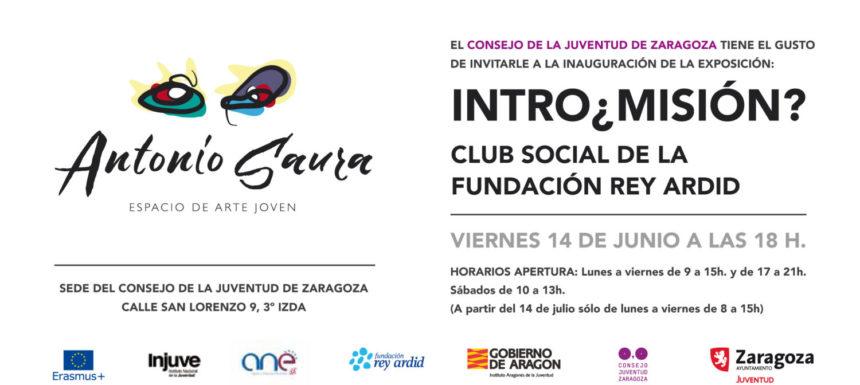 """El CJZ inaugura """"Intro¿misión?"""" una muestra de artistas de Fundación Rey Ardid"""