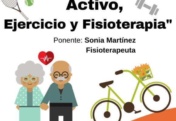 ADPLA retoma sus charlas saludables hablando de envejecimiento activo