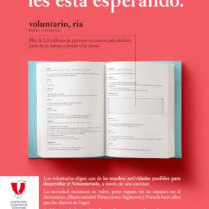 La campaña #voluntarioaldiccionario reconocida en los premios Veredictas de diseño gráfico