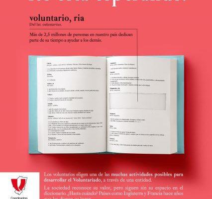 Seguimos con la campaña #voluntarioaldiccionario