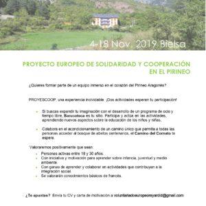Participa en un proyecto europeo con Rey Ardid