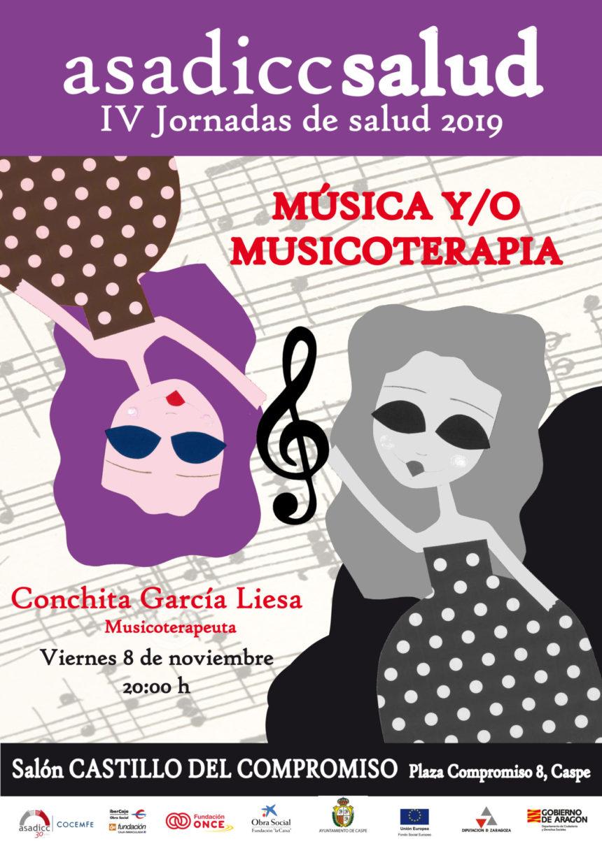 "Asadicc organiza la charla ""Música y/o Musicoterapia"""