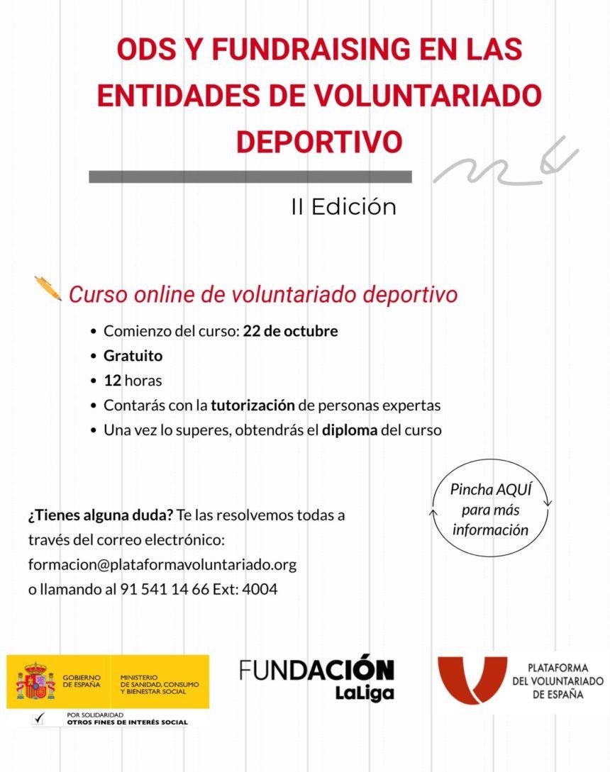 Nueva formación online de voluntariado deportivo