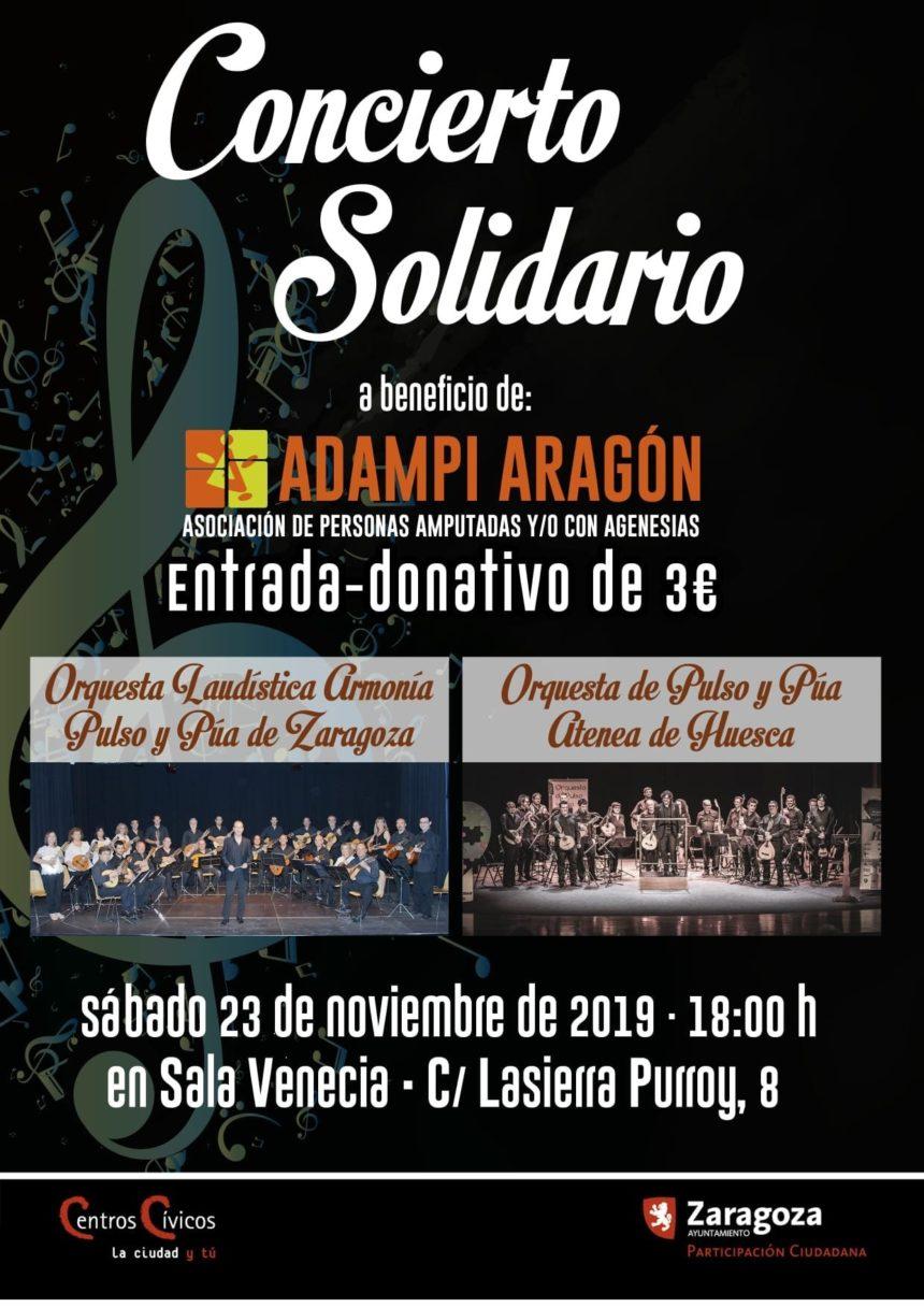 Concierto Solidario de Adampi ¡No te lo pierdas!
