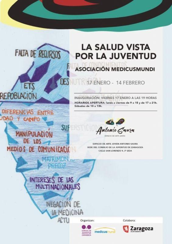 """El Consejo de la Juventud de Zaragoza inaugura la exposición """"La salud vista por la juventud"""""""