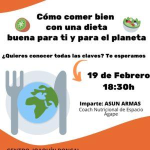 """Nueva Charla Saludable de ADPLA: """"Cuídate y Cuida el planeta"""""""