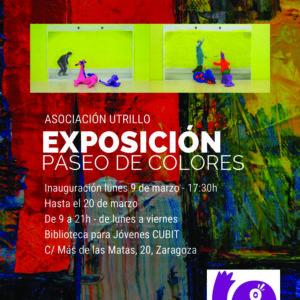 """Utrillo organiza la exposición """"Paseo de Colores"""""""
