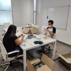Las entidades de la Coordinadora Aragonesa de Voluntariado atienden a más de 88.000 personas de colectivos vulnerables durante la pandemia