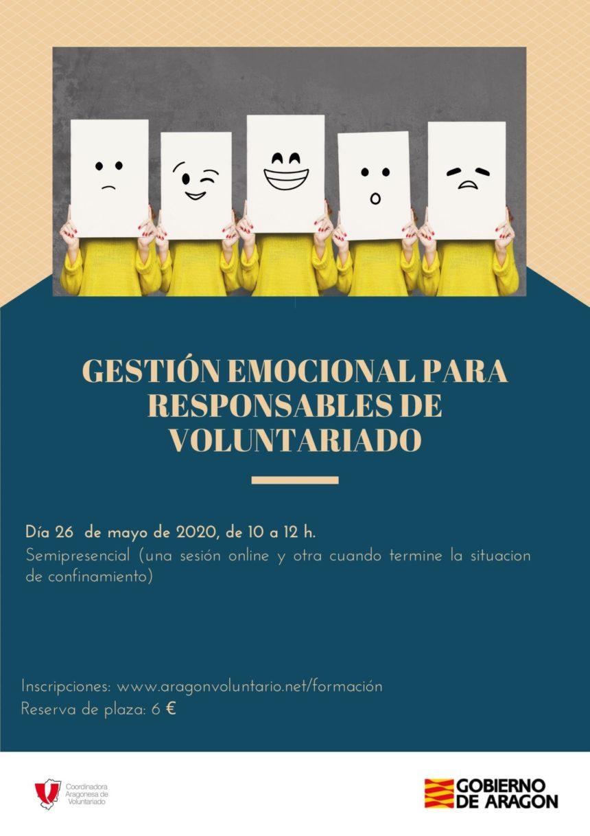 Nuevos talleres de Gestión emocional para responsables y voluntarixs esta semana