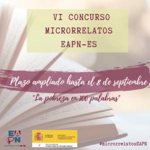 """VI Concurso de Microrrelatos """"La pobreza en 100 palabras"""""""