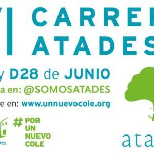 La VI Carrera #PorUnNuevoCole de Atades será virtual y se celebrará el 27 y 28 de junio