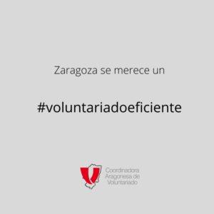 La Coordinadora Aragonesa de Voluntariado defiende una formación de calidad para todas las personas voluntarias de Zaragoza