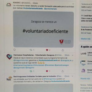 Gracias por vuestro apoyo #voluntariadoeficiente