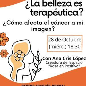 ADPLA organiza una nueva Charla Saludable sobre belleza terapéutica y cáncer