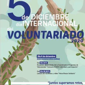 """Celebra con nosotros el Día Internacional del Voluntariado: """"juntos superamos retos; juntas creamos oportunidades"""""""