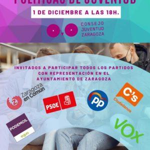 EL CJZ organiza un debate sobre la juventud de Zaragoza