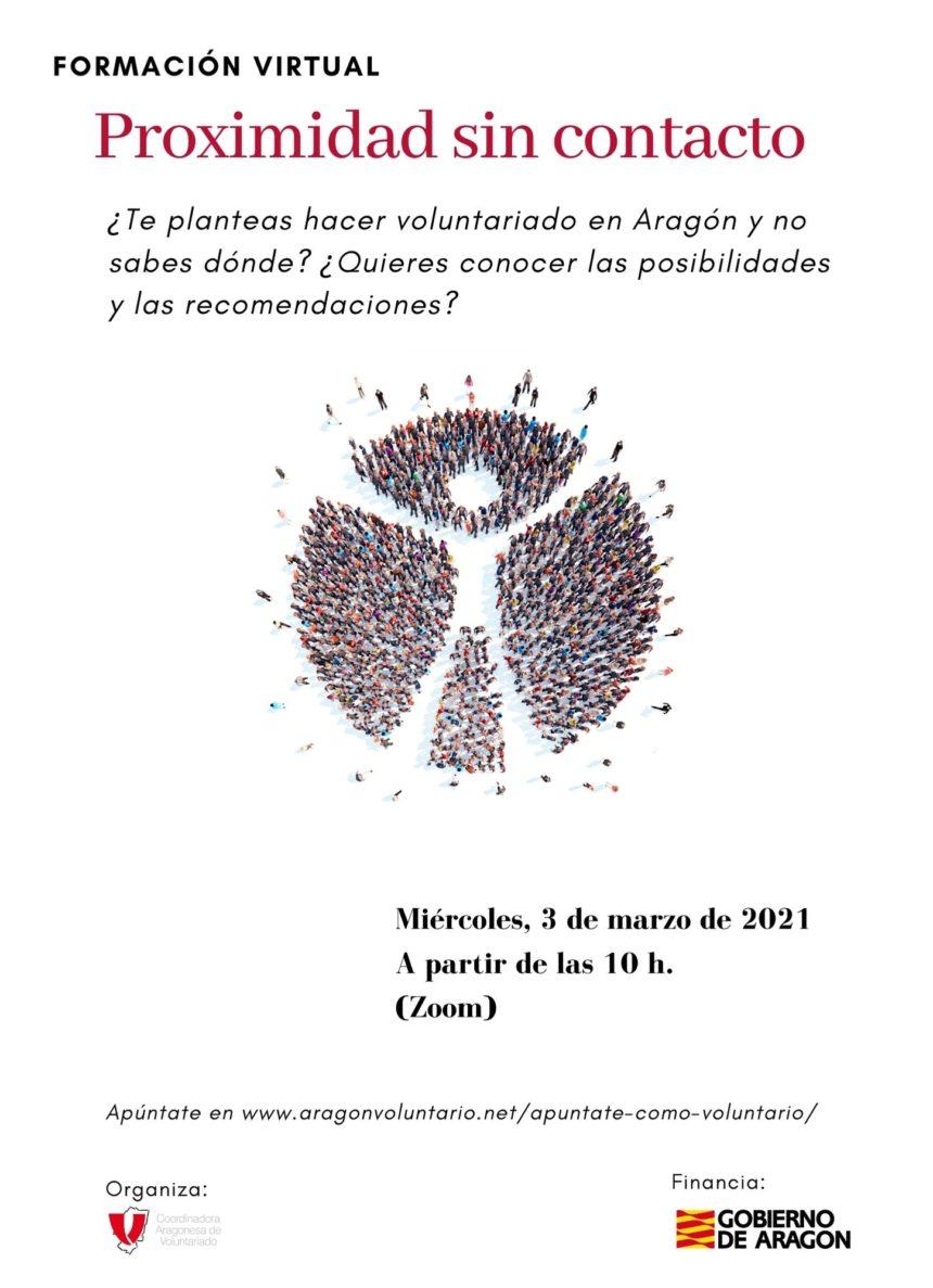 ¿Quieres ser voluntari@? Próxima reunión virtual el 3 de marzo