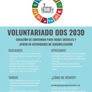 ¿Quieres ser voluntari@ para difundir los valores de ODS y Voluntariado?