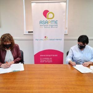 ASAPME refuerza la integración laboral pro salud mental a través de un nuevo convenio con UGT