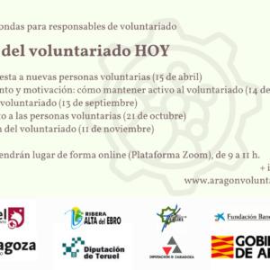 """Apúntate a la segunda mesa redonda de gestión de voluntariado """"Motivación y acompañamiento: cómo mantener activo al voluntariado"""""""