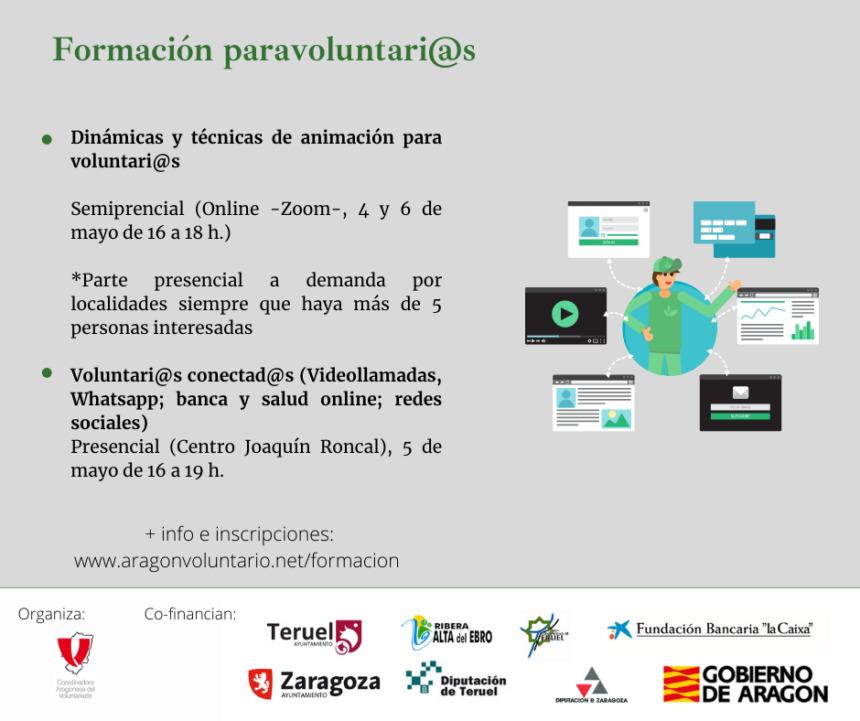 """Taller para voluntari@s """"Aplicaciones online para la vida diaria"""""""