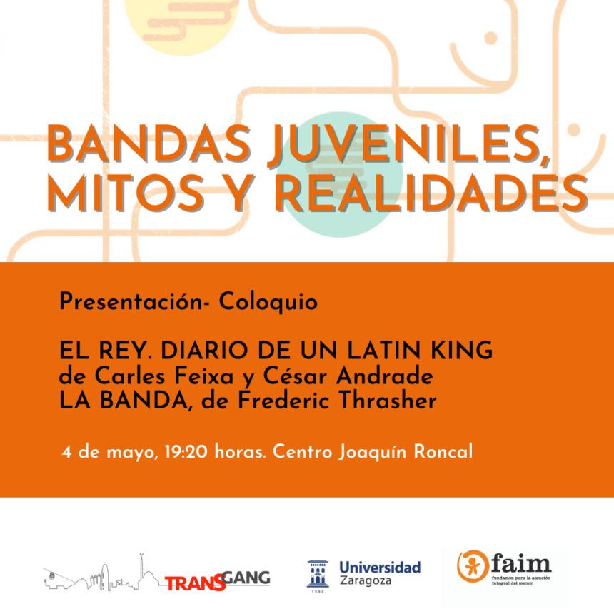 """FAIM participa en el coloquio """"Bandas juveniles: mitos y realidades"""""""