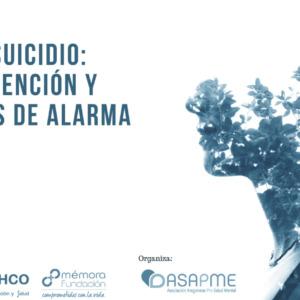 ASAPME y Fundación Ibercaja organizan una videoconferencia sobre prevención y señales de alarma del suicidio