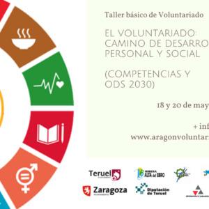 """Apúntate al taller """"Voluntariado: camino de desarrollo personal y social"""""""
