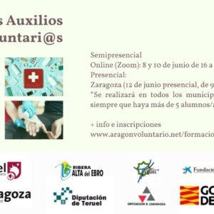 Nueva edición del Curso de Primeros Auxilios para Voluntari@s